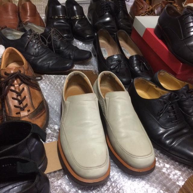 4月に革靴の大量仕入れをするかも!